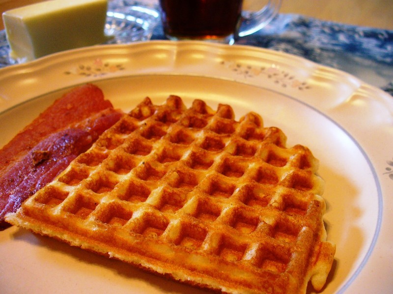 Favorite Buttermilk Waffles (with Whole Grain option)