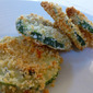 Pecorino-Crusted Baked Zucchini Crisps