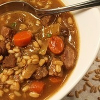 Beef and UnBarley Soup