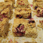 Cranberry and Peanut Butter Squares (butter free)