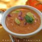 Smokey Backyard Tomato Soup with Hot Red Pepper Sauce