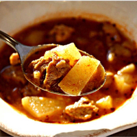 GOULASH with RED WINE
