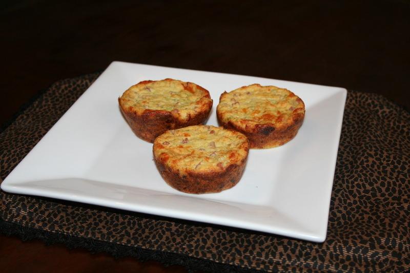 Ham & Cheese Quiche Muffins
