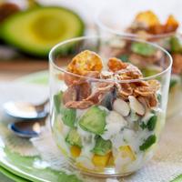 Mango Avocado Breakfast Parfait Recipe