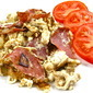 Lite Salami and Egg White Scramble