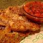 Baked Chicken Strips & Salsa Sauce