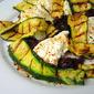 Summer Pleasures: Grilled Squash w/ Burrata & Olive Puree