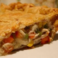 Easy Turkey or Chicken Pot PIe