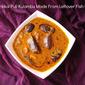 Kathirikai Puli Kulambu Made From Leftover Fish Gravy