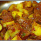The Best Quick & Easy Indian Potatoes in Red Sauce