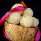 Soft Coconut Burfis / Delicate Coconut Balls