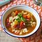 """Chicken Noodle """"Alphabet"""" Soup"""