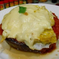 Stuffed Breakfast Portabello Recipe