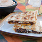 Grilled Black Bean and Cheese Quesadillas