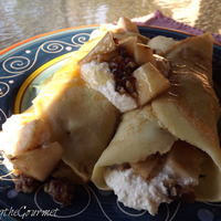 Crepes with Fresh Pears