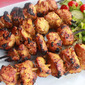 Grilled Chicken Satay Kebabs
