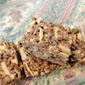 "A little spice to ""uniquify"" a beloved treat....Cinnamon Ginger Cocoa Rice Krispies Treat with Toasted Almonds~!"