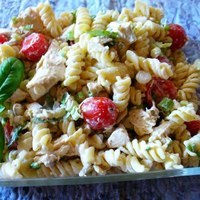 Chicken, Tomatoes & Rotini Salad