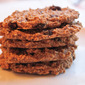 Oatmeal, Raisin, Coconut, and Chia Seed Cookies