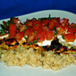 September Secret Recipe Club...Featuring Chicken Bruschetta