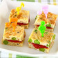 Tuna Egg Bite-Size Tamagoyaki Sandwich - Video Recipe