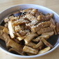 King Oyster Mushroom with Tofu
