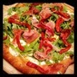 Fresh Mozzarella, Arugula and Proscuitto Pizza