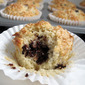 Coconut Choc Chip Muffins (butter free)