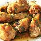 Lemon Garlic Chicken Wing Recipe