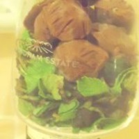 Le Chocolatier: Dark Chocolate and Sencha Mint Tea Truffles