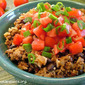 Fiesta Rice with Beef and Black Beans