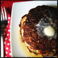 Zucchini Bread Pancakes with Pan Fried Apples