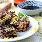 Mini Black Rice Bites #meatlessmonday #glutenfree