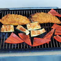 Grilled Tandoori Turkey Tenderloin