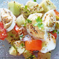 Egg Salad With Honey Lime Vinaigrette