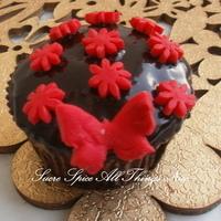 Chocolate Cupcakes with ganache
