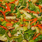 Quick and easy veggie rice bowl