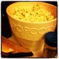 Truffled Popcorn with Lemon Sea Salt