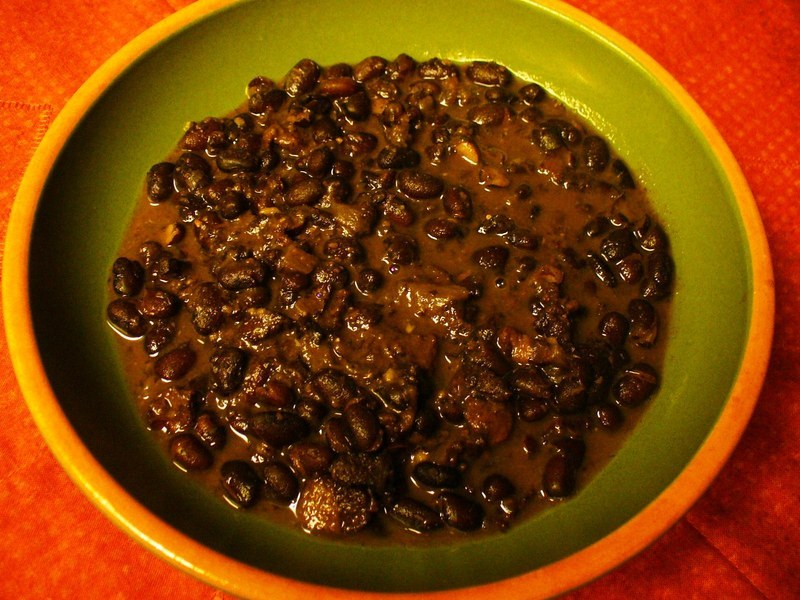 Black Beans with Smoked Bacon (feijoada)