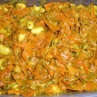 Vegan Carrot Noodles