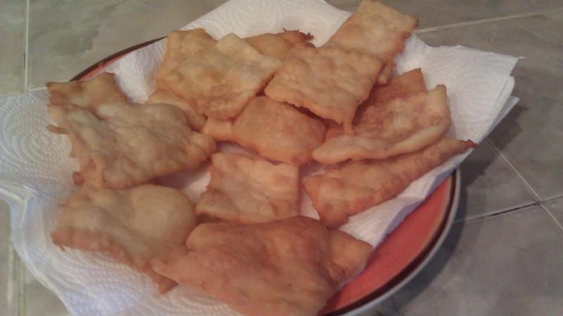 flaky crust fried bread
