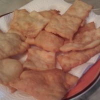 flaky crust fried bread