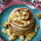 Caramel & Sea Salt Pear Pancake Recipe
