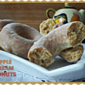 Apple Cream Donuts with Maple Glaze and a Cookbook Review