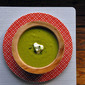 Garden Pea and Mint Soup
