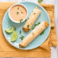 Baked Chipotle Ranch Chicken Taquitos