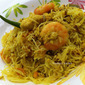 Bihun / Mee Hoon Goreng Kunyit- Rice Vermicelli Stir fry Flavored with Turmeric