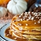 Pumpkin Pancakes Recipe with Cajeta de Leche