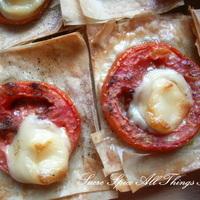 Tomato n Pesto Puffs