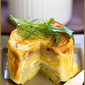 Potato and carrot timbales